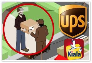 Livraisons freebox révolution : « des colis jusque dans les bureaux