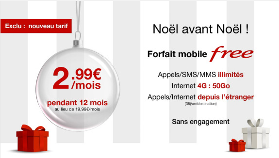La vente priv e du forfait mobile free 50 go - Vente privee enfance ...