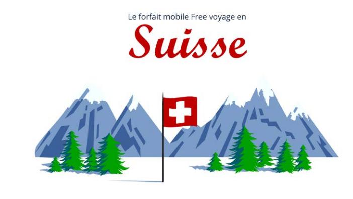 Forfait Free Mobile La Suisse Est Désormais Incluse Dans Les 25go