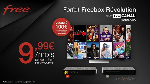 La Freebox Révolution de retour en vente privée