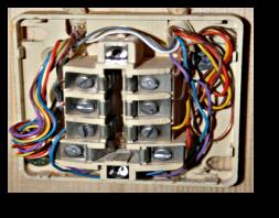 Mode d emploi retrait d un condensateur for Branchement prise telephone 4 fils