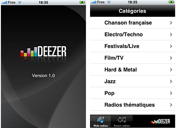 deezer gratuit iphone orange