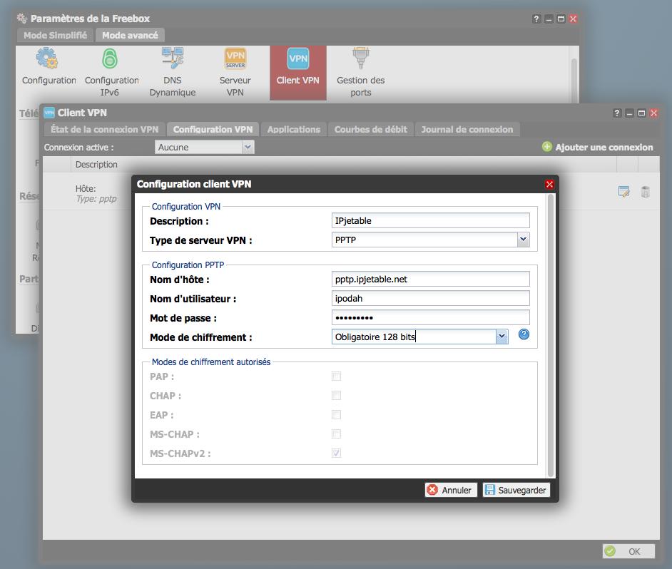 freebox r volution comment configurer le vpn du server avec ip jetable. Black Bedroom Furniture Sets. Home Design Ideas