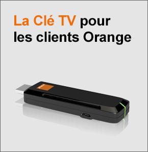 orange annonce le lancement de la cl tv pour 39. Black Bedroom Furniture Sets. Home Design Ideas