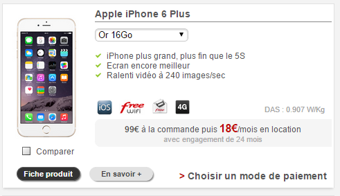 Bouygues Location Iphone  Plus