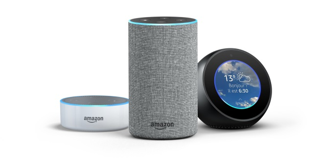 tf1 trois applications pour le lancement d alexa l assistant vocal d amazon. Black Bedroom Furniture Sets. Home Design Ideas