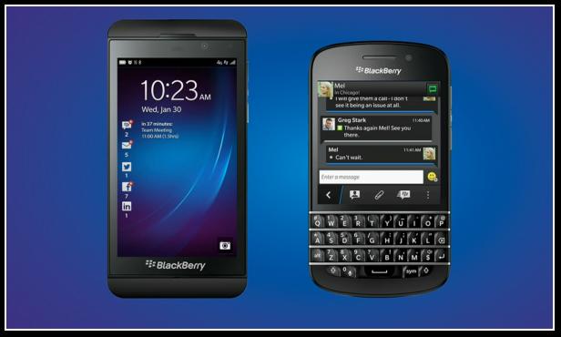 article  Les nouveaux BlackBerry chez Orange SFR Virgin et Bouygues Et Free