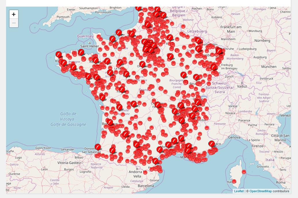 carte free borne interactive Free annonce disposer d'environ 1500 bornes interactives