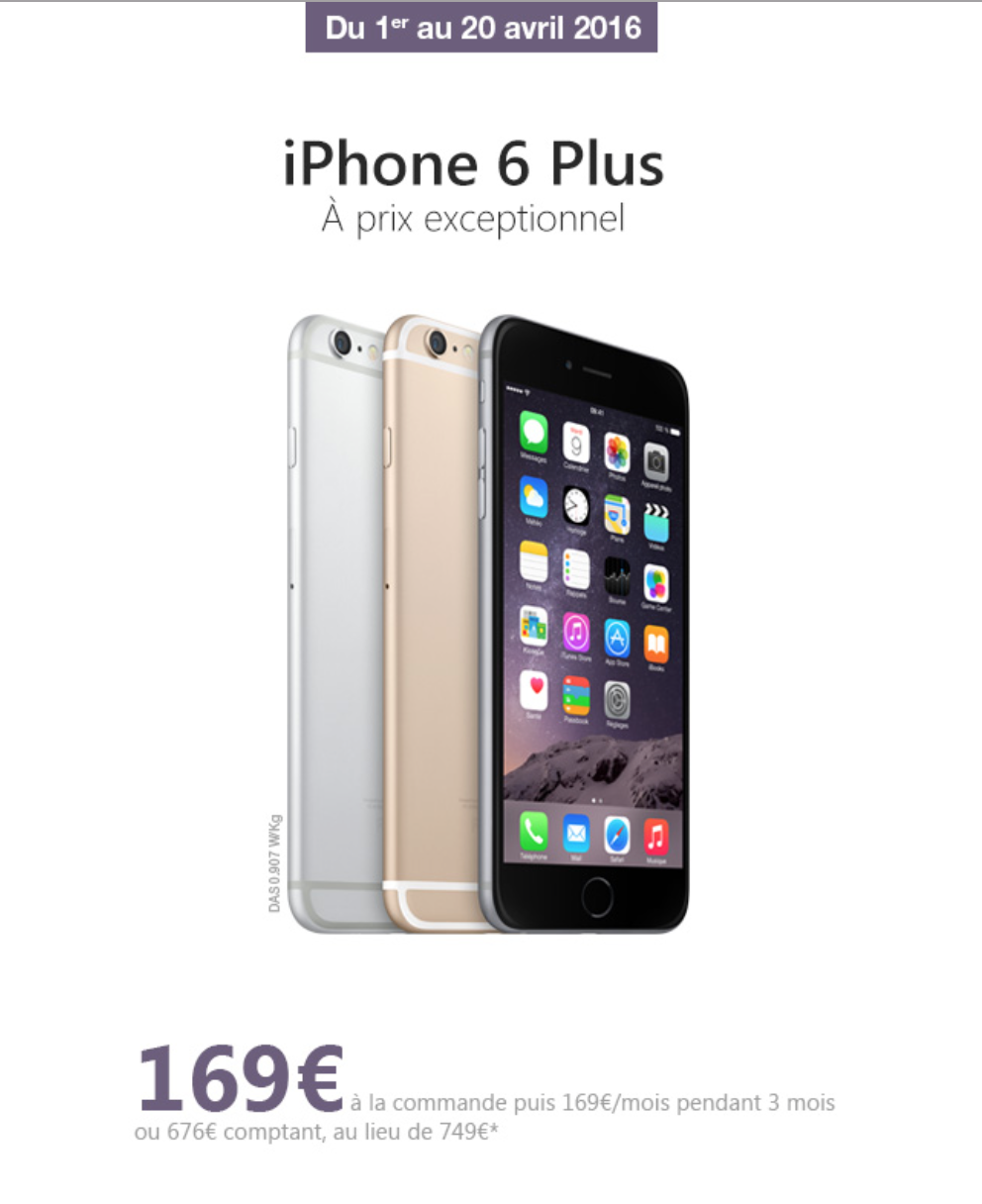 Free Mobile Offre Iphone