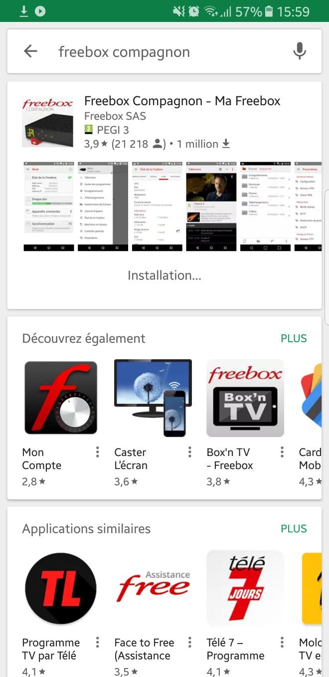 brancher des amis App