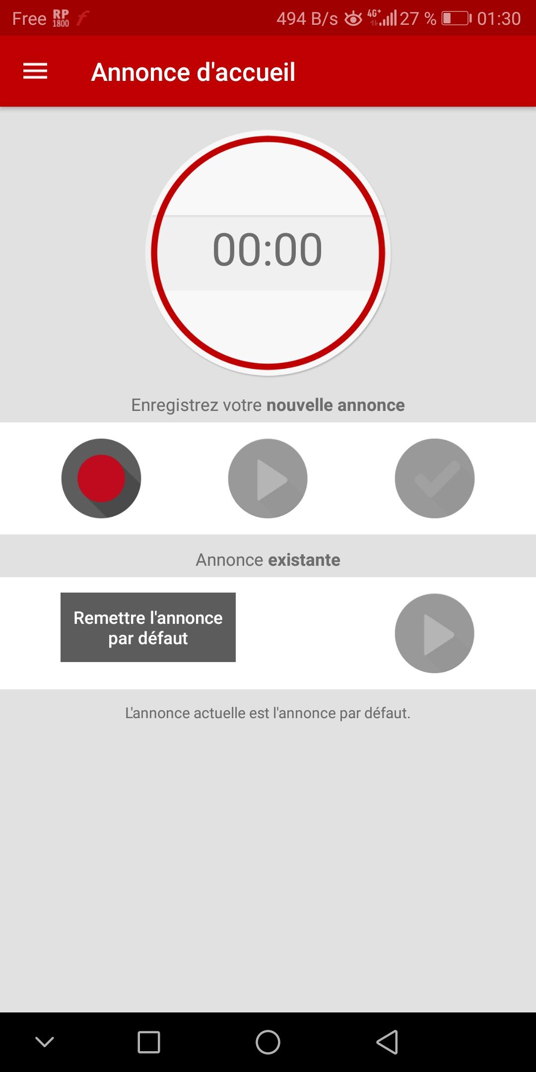 la messagerie vocale free la r union est enfin disponible en b ta. Black Bedroom Furniture Sets. Home Design Ideas