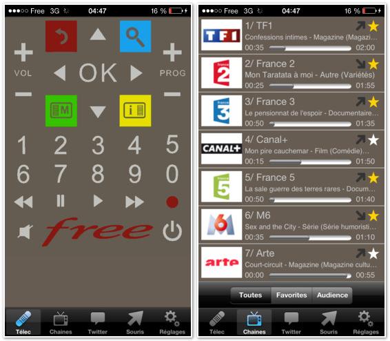 Permet de piloter votre Freebox Delta v7 / Révolution V6 ou HD V5. Après avoir configuré votre code de télécommande dans les options de cette extension, un clic sur l'icone de la télécommande miniature fait apparaît une télécommande plus grosse.