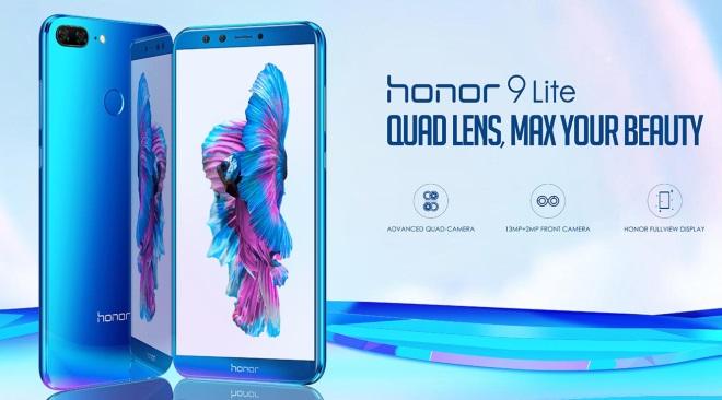 Le Honor 9 Lite débarque en France au prix de 199 euros