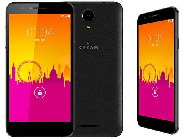 kazam trooper 650l free accueille un nouveau smartphone. Black Bedroom Furniture Sets. Home Design Ideas
