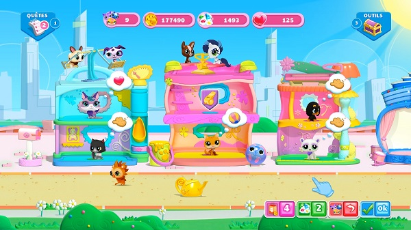 exclu d couvrez littlest petshop le nouveau jeu gameloft bientot sur freebox. Black Bedroom Furniture Sets. Home Design Ideas