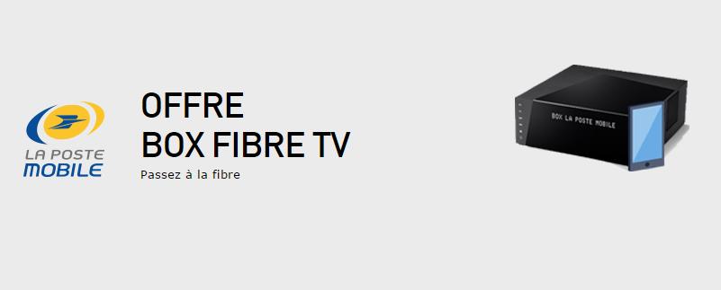 la poste mobile lance son offre box fibre tv. Black Bedroom Furniture Sets. Home Design Ideas