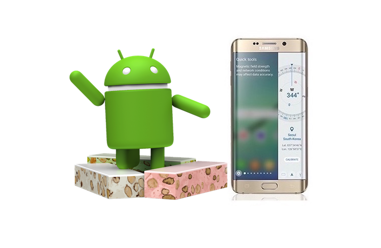 android 7 0 nougat samsung fait la liste des mod les ligibles. Black Bedroom Furniture Sets. Home Design Ideas