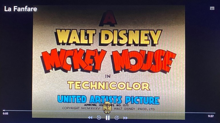 Disney Decouvrez L Interface Du Service De Svod Sur Freebox Mini 4k
