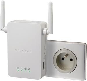 netgear lance un nouveau r p teur wifi n compatible avec les box. Black Bedroom Furniture Sets. Home Design Ideas