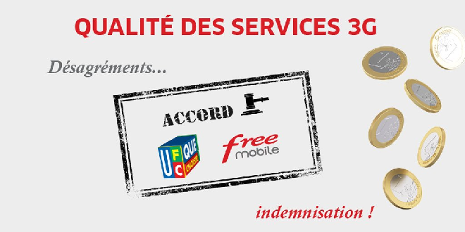 Accord Free Mobile / UFC-Que Choisir : 141 632 clients indemnisés