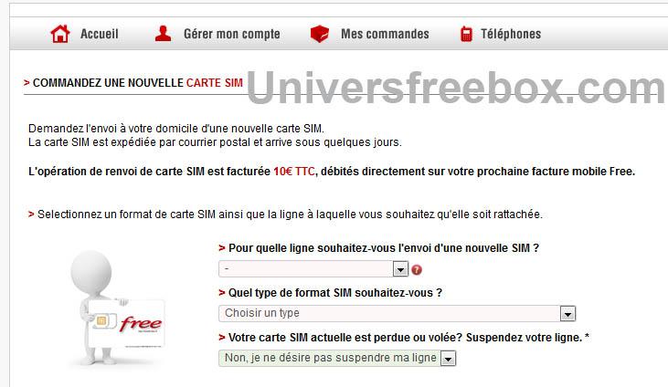 Free Mobile Augmente Le Tarif Pour Le Renouvellement Des Cartes Sim