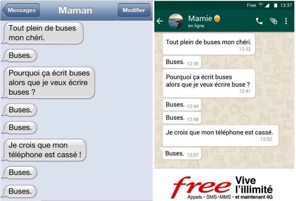 Nouvelle campagne publicitaire de free mobile un diteur - Peut on porter plainte contre sa banque ...