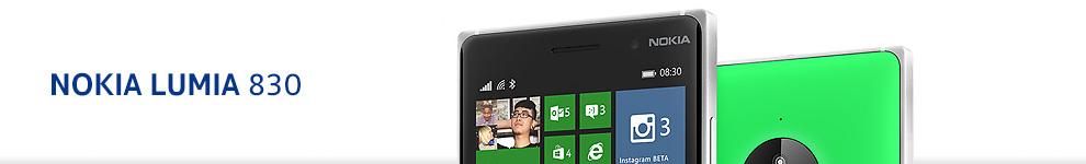 daf4cf0811e2b4 Le Lumia 830 est doté d un écran de 5 pouces HD 720p (définition 1280 x  720). Sous Windows Phone 8.1, il propose 16 Go d espace de stockage  (10.7Go), ...