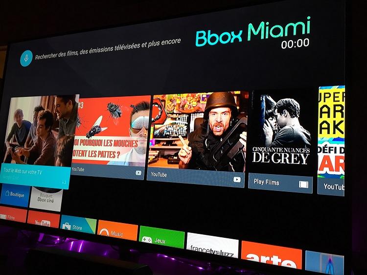 pile 1 an apr s le lancement de la freebox mini 4k bouygues d ploie android tv sur toutes les. Black Bedroom Furniture Sets. Home Design Ideas