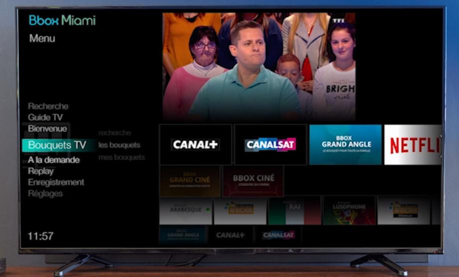 d couvrez la nouvelle interface tv de la bbox miami qui sera prochainement disponible. Black Bedroom Furniture Sets. Home Design Ideas