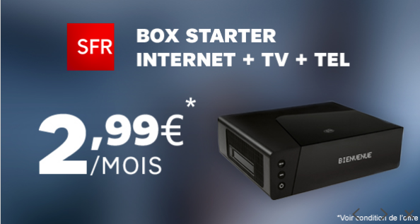 sfr r plique la vente priv e freebox avec une offre sur showroom priv partir de 2 99 mois. Black Bedroom Furniture Sets. Home Design Ideas