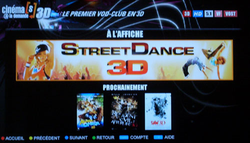 comment regarder wild earth 3d