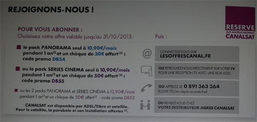 code promo canal plus bein sport
