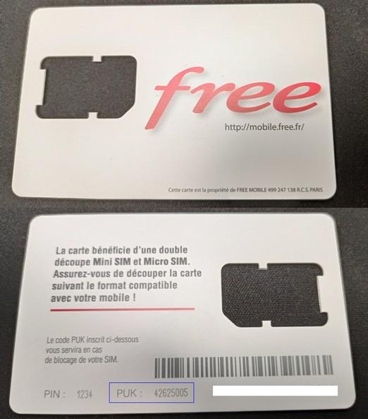 Le Saviez Vous En Cas De Carte Sim Free Mobile Bloquee Il Existe Trois Solutions Pour Recuperer Votre Code Puk