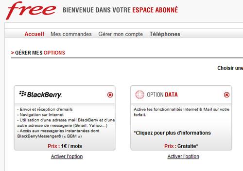Option data free mobile