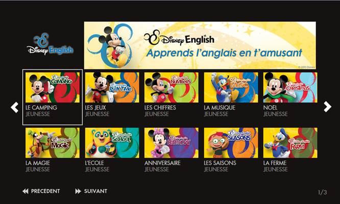 Canalsat Lance Le Service Disney English Pour Apprendre L Anglais