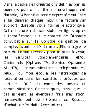 comment changer la date de prelevement free mobile