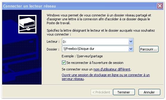 freeplayer avec windows 7