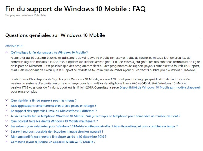 Windows Phone : voilà, c'est fini (même le support)