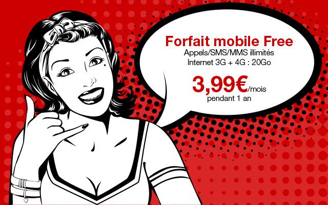 vente priv e vos marques pr ts le forfait illimit free mobile 3 99 mois. Black Bedroom Furniture Sets. Home Design Ideas