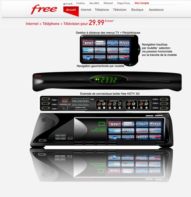 freebox v6 2 nouvelles propositions de design. Black Bedroom Furniture Sets. Home Design Ideas
