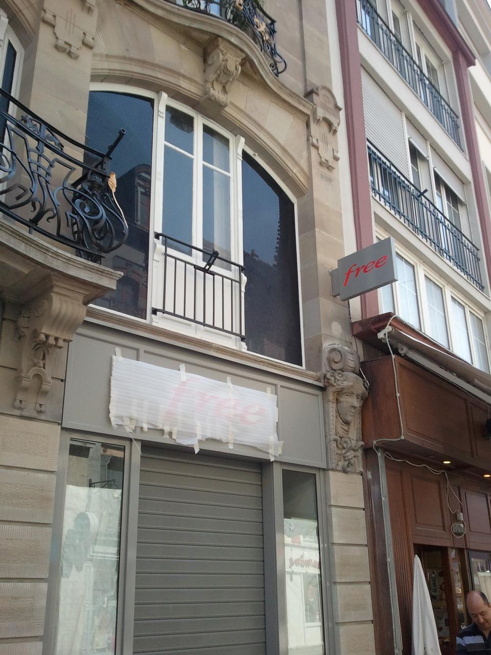 D couvrez le nouveau free center qui va ouvrir tr s - Boutique free mulhouse ...