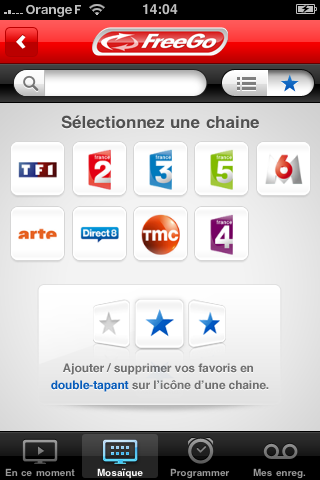 freego gratuit iphone