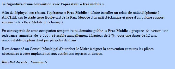 Free Mobile Combien Coute La Redevance Annuelle D Une Antenne Mobile