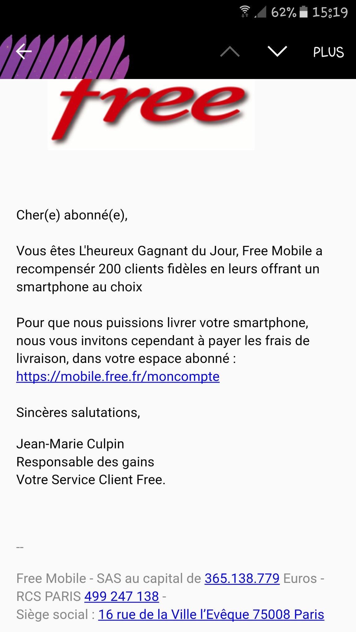 arnaque 4g free