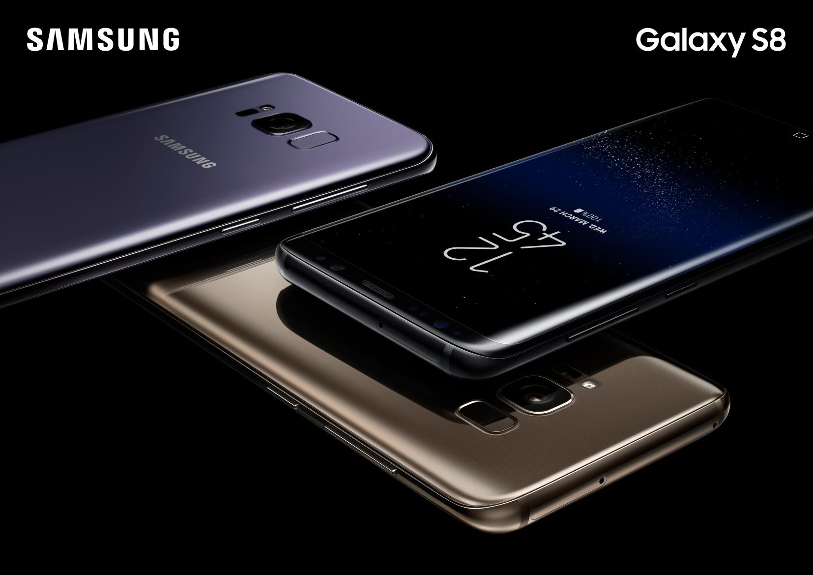 Samsung déploiera une MAJ destinée au Galaxy S8 cette semaine