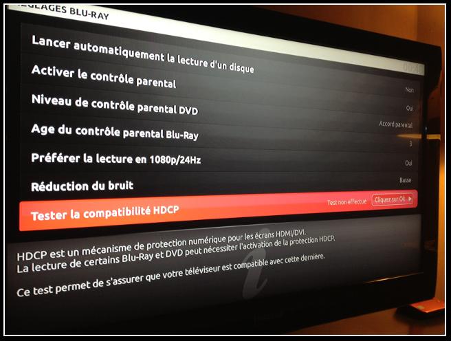 Tester la compatibilit hdcp de votre t l viseur avec - Est ce qu un lecteur blu ray lit les dvd ...