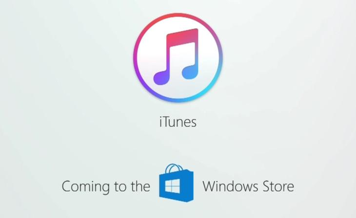 Apple propose enfin iTunes sur le Microsoft Store