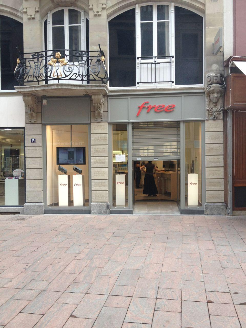 D couvrez le nouveau free center de mulhouse qui vient d - Boutique free mulhouse ...