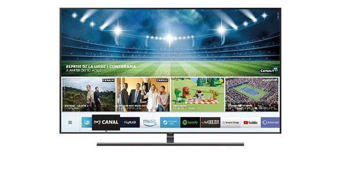 mycanal le live en 4k fait son apparition sur les smart tv de samsung. Black Bedroom Furniture Sets. Home Design Ideas