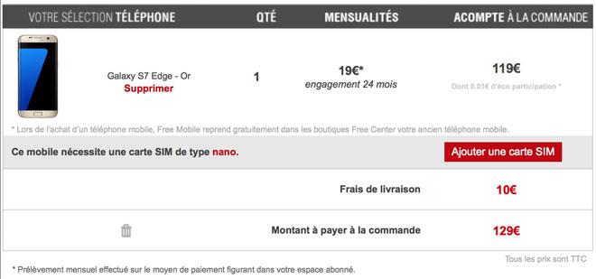Free Mobile Fait Evoluer Les Demandes De Nano Sim Lors De L Achat D